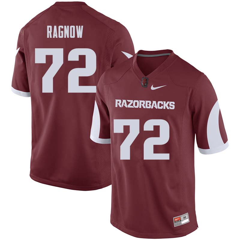 Men #72 Frank Ragnow Arkansas Razorback College Football Jerseys Sale-Cardinal