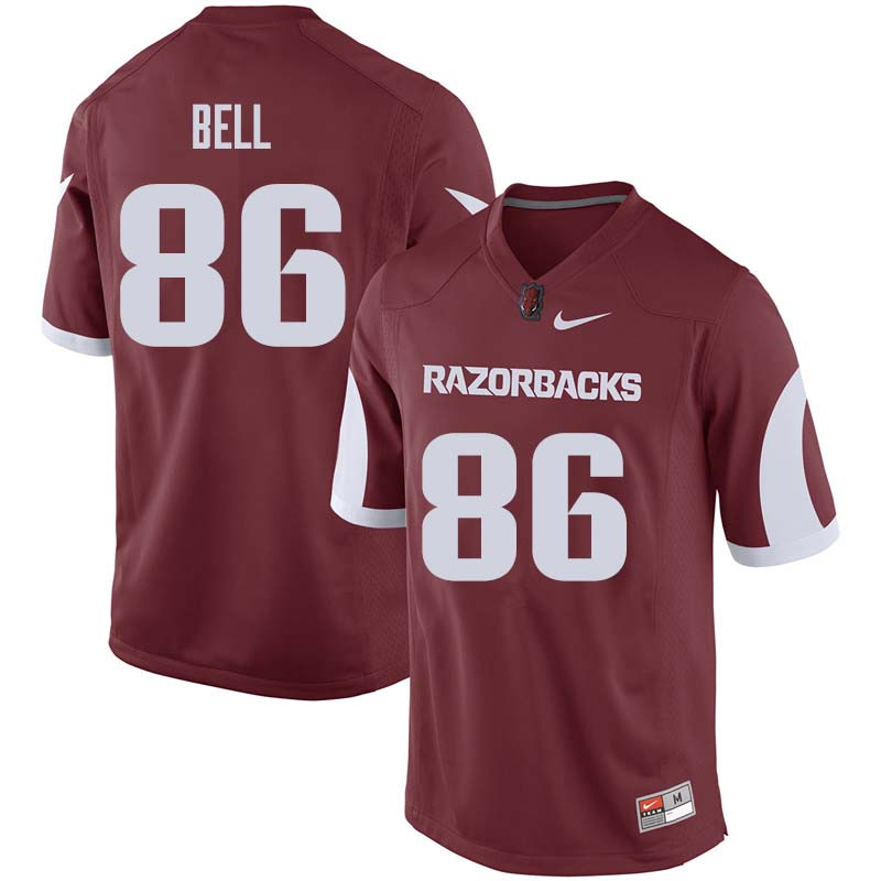 Men #86 Jamario Bell Arkansas Razorback College Football Jerseys Sale-Cardinal