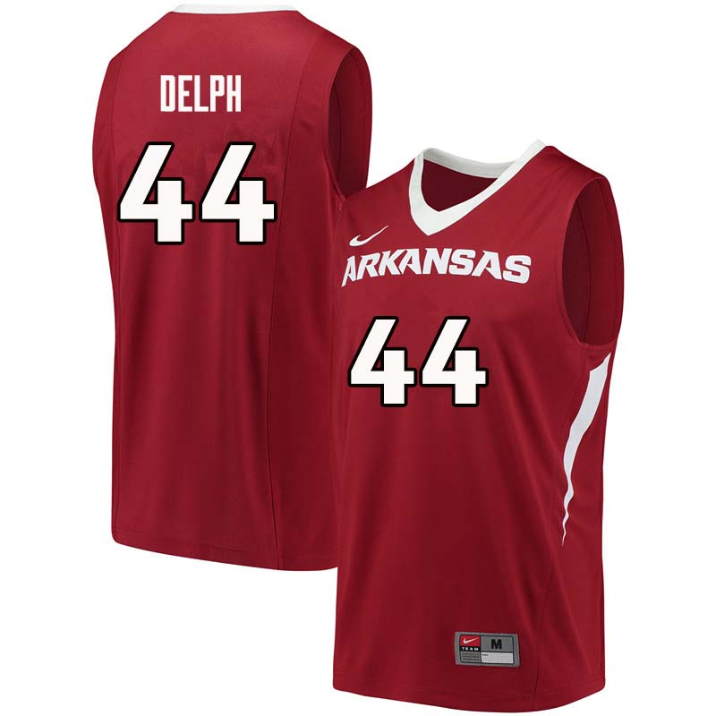 Men #44 Marvin Delph Arkansas Razorback College Basketball Jerseys Sale-Cardinal